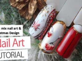 Salon mix nail art & Christmas Design