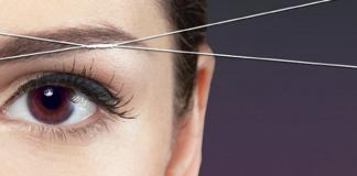 Αποτρίχωση προσώπου με κλωστή, σχηματισμός & make up φρυδιών, μασάζ και ενυδάτωση προσώπου